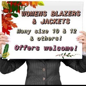Jackets & Blazers - Women's Blazers & Jackets